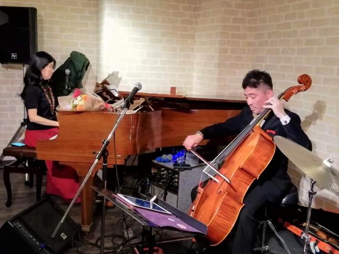 ピアノとヴァイオリン&チェロ
